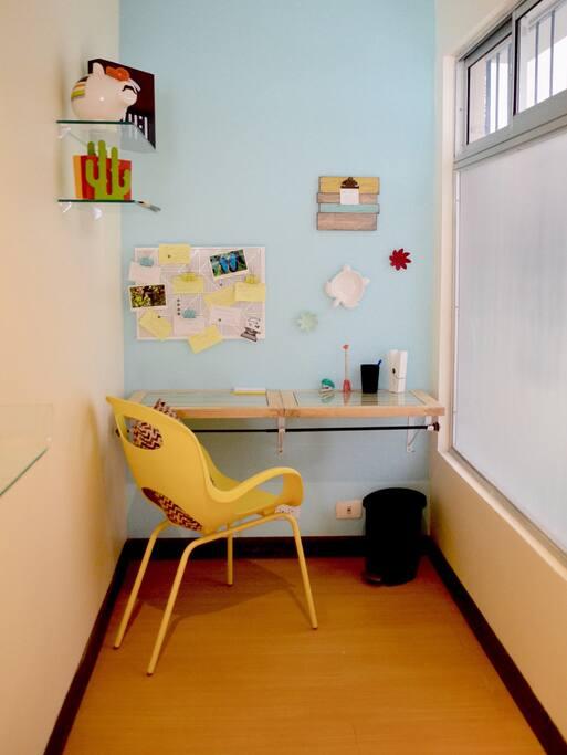 Área de Trabajo - Primer Piso || Work Station First Floor.