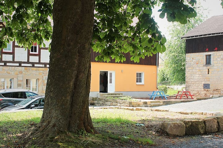 Cosy Apartment in Weißig with Garden