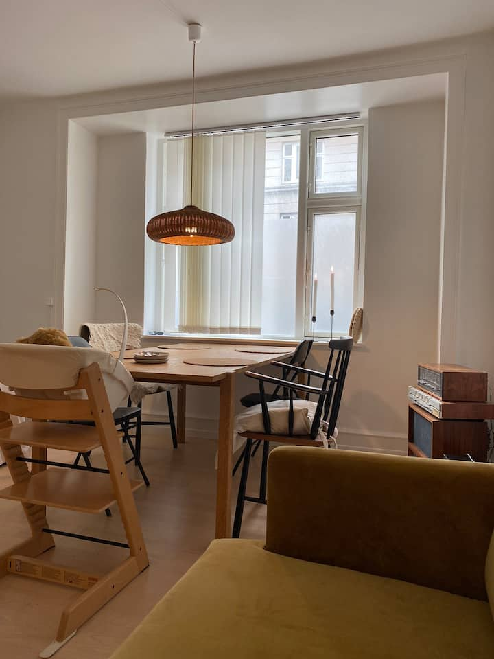 Beautiful apartment in Østerbro Copenhagen