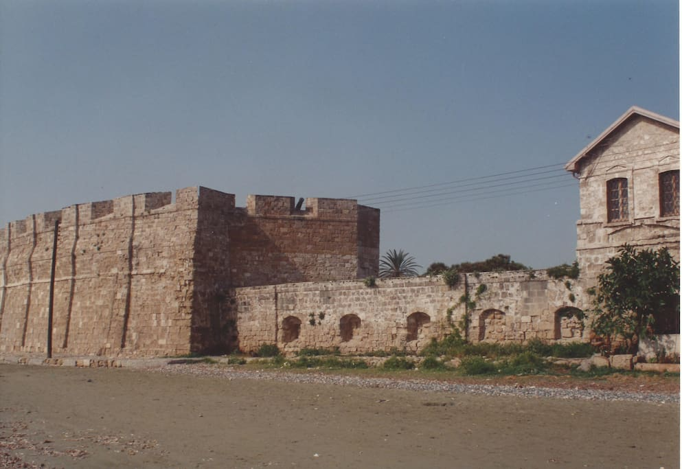 medieval castle at sea front