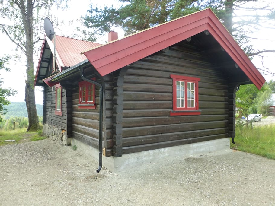veslestugu quot small farmhouse quot cabins for rent in ringsaker hedmark
