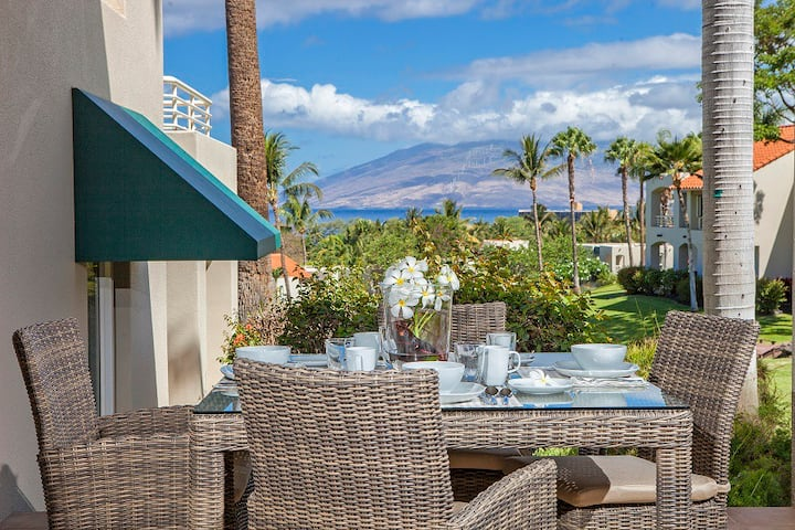 STOP! LOOK NO FURTHER! Palms at Wailea #1503 2Bd Ocean View Best Location!