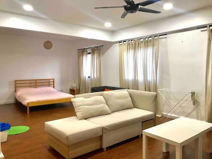Entire Home~ Comfy Seaview STUDIO Malacca 2-4pax