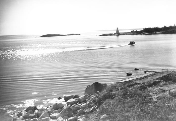 W.R. MacAskill photograph taken between 1920-1938 with our property in the foreground. NS Archives Photograph #200310748 https://novascotia.ca/archives/search/?q=indian+harbour%2C+ns.