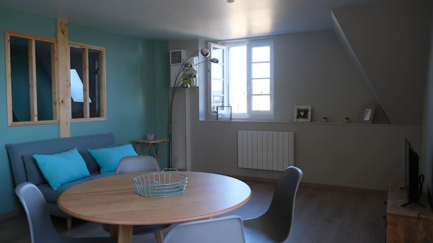 Appartement cosy avec vue sur la Loire
