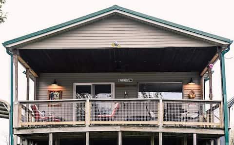 Des Moines River Front Cabin- Fishing/Hunting/UTV