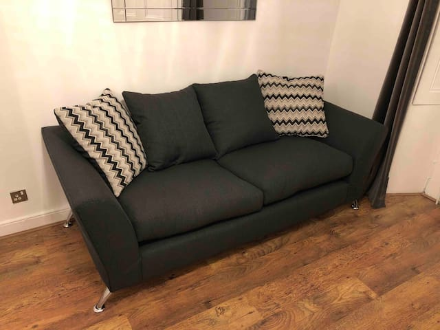 New sofa now in the flat