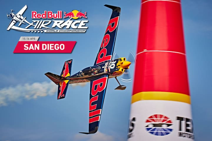San Diego Red Bull Race Package April 14-16 - San Diego - Bateau