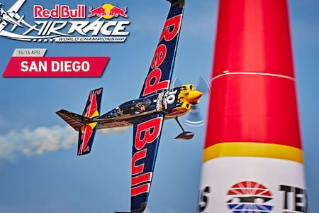San Diego Red Bull Race Package April 14-16 - San Diego - Boot