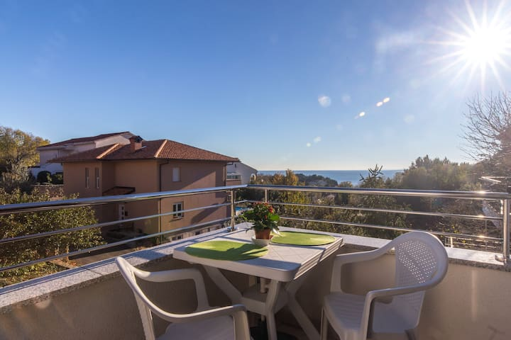 Lovely Studio Verde with a Sea view - Isola di Krk - Appartamento
