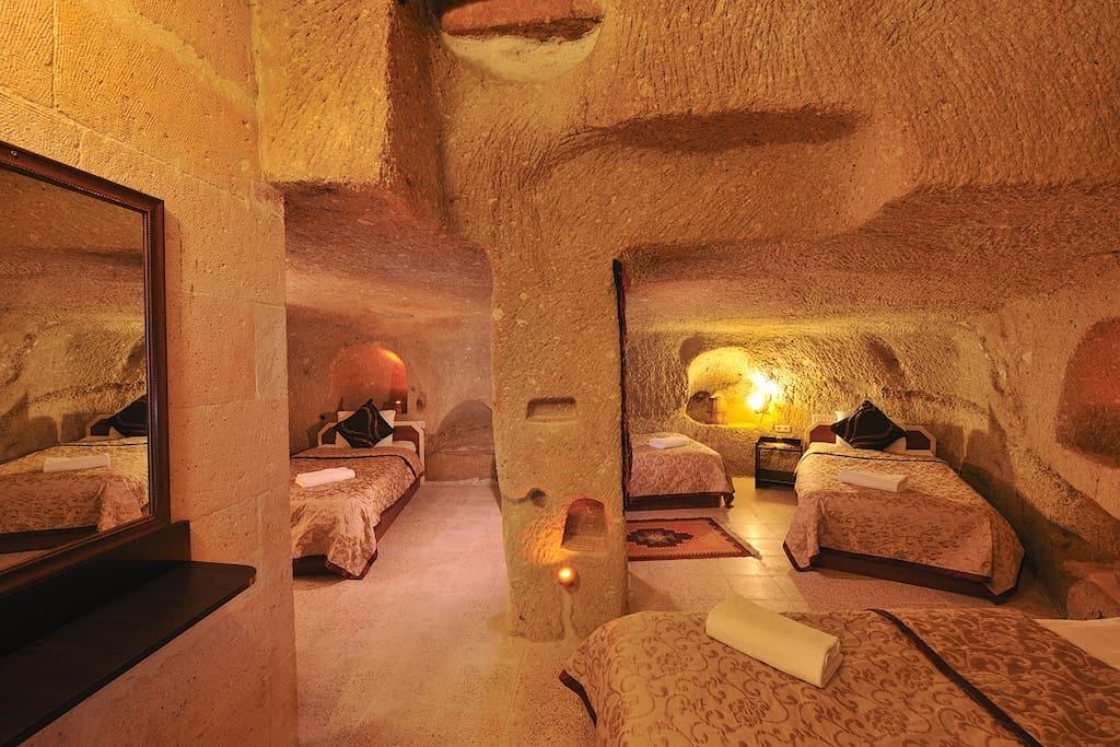 Cave Room for 4 people