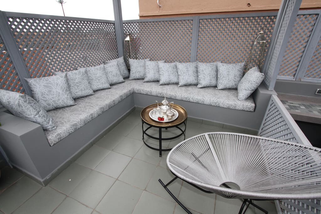 Roof Top Relaxation & chill out area