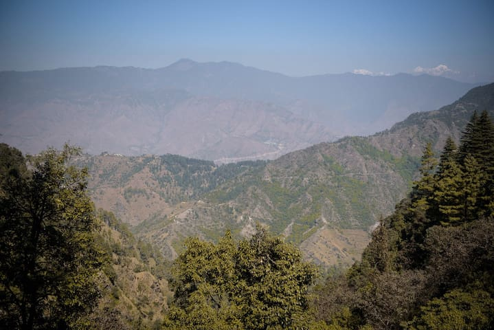 Mountain View Rooms in Bhataghat - Dhanolti - House