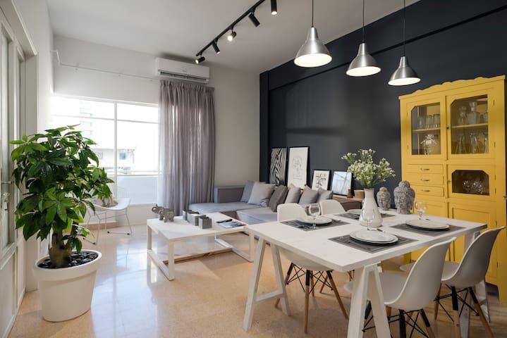 ★ Urban 3-Bedroom Apartment in Mar Mikhael