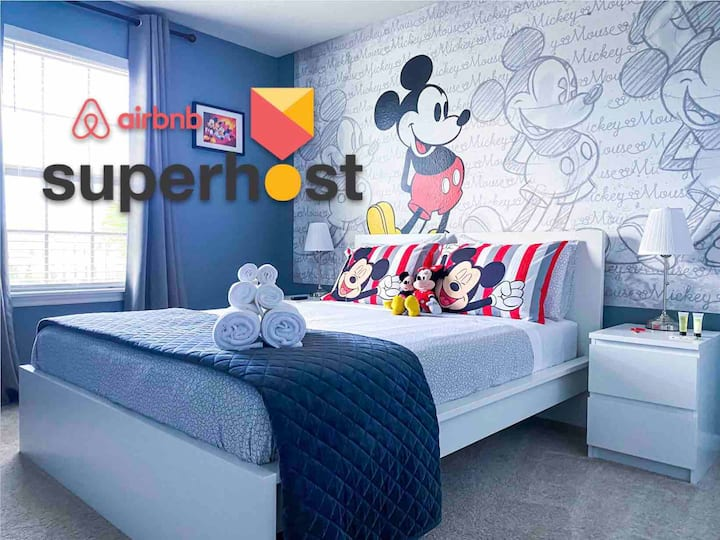 MICKEY ROOM + CLUB HOUSE INCLUDED Near Disney