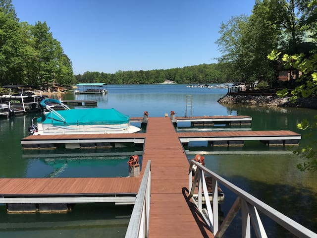 Lake Keowee, Dock, Pool, Clemson, View, ❤