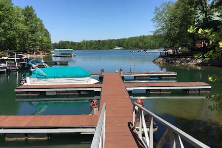 Lake Keowee, Dock, Pool, Clemson, View, ❤
