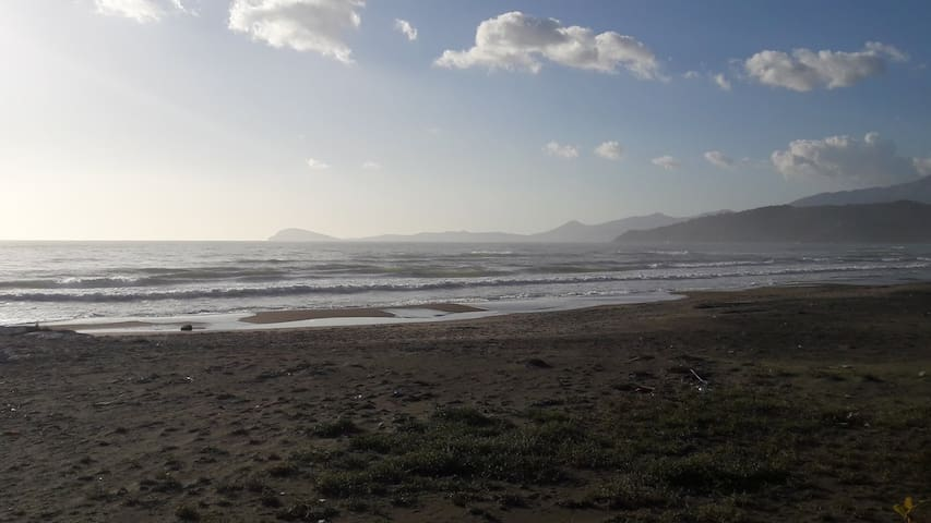 il mare d inverno a Scauri