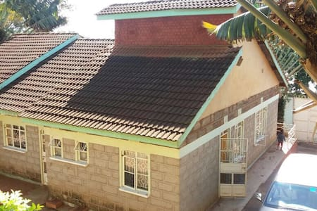 Serene family home in Nyeri town