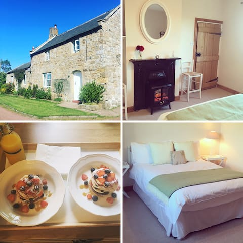Double room in idyllic cottage -  private entrance