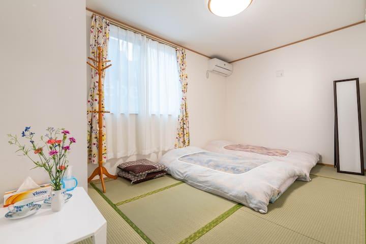 和室301号室/新築高級住宅/JR線徒歩2分/無料高速Wi-Fi/池袋17分新宿27分