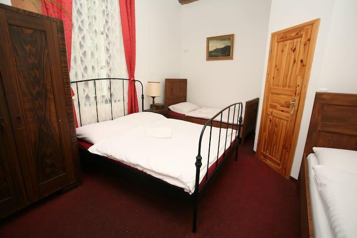 Mezonetový Apartmán pro 6 na Zámku Jindřichovice