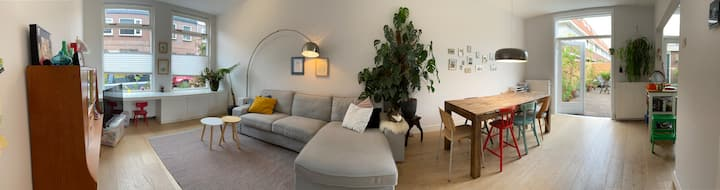 Cozy familyhouse in Haarlem close to the beach