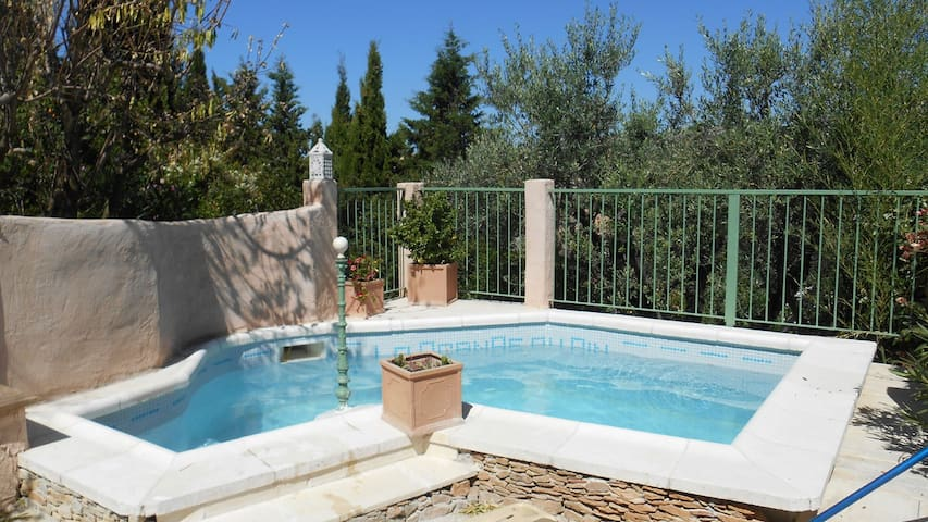 1-storey House with pool - Ceyreste - Casa