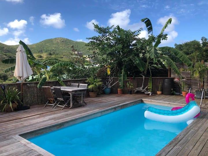 Maison de 3 chambres avec piscine