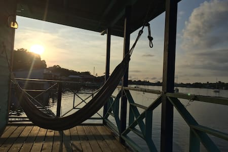 Fabulous sunsets & Caribbean colors top floor - Bocas del Toro - Annað
