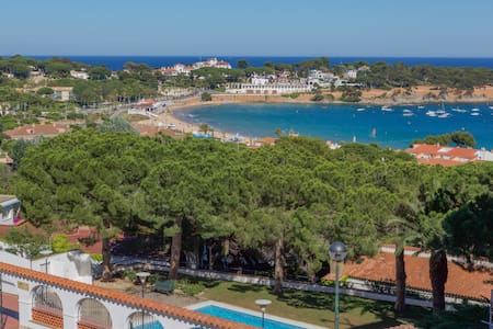 Private room with sea view - Sant Feliu de Guíxols - อพาร์ทเมนท์