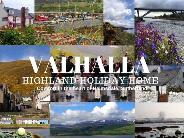 Valhalla Helmsdale, cosy and comfortable - Highland - Vacation home