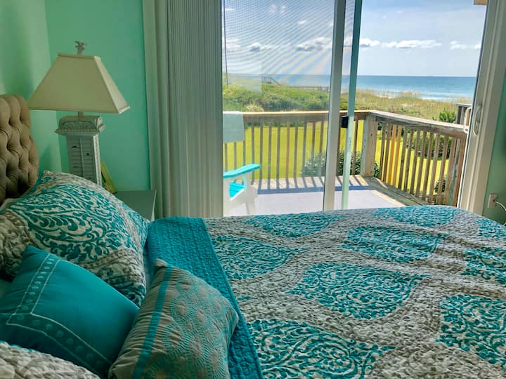 Oceanfront Home on residential beach & great view!