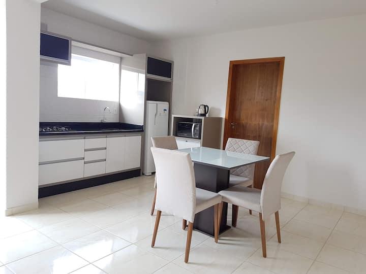 Apartamento novo, excelente custo benefício!