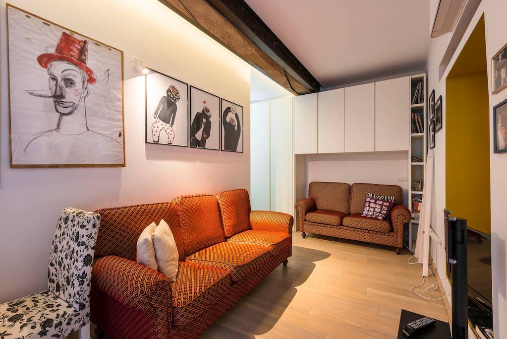 Affascinante casa centro storico 2 case in affitto a for Stanze in affitto modena