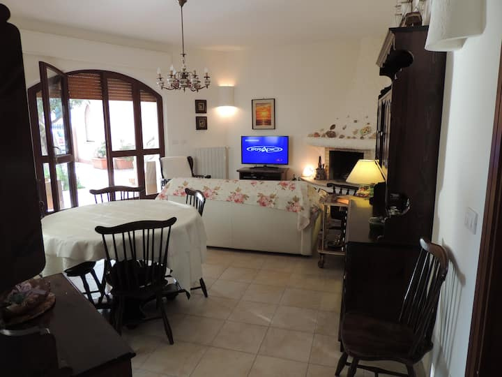 Two bedrooms villa 50 meters from the beach