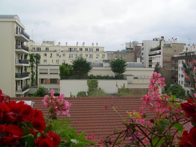 Chambre confortable Paris/ Boulogne-Billancourt
