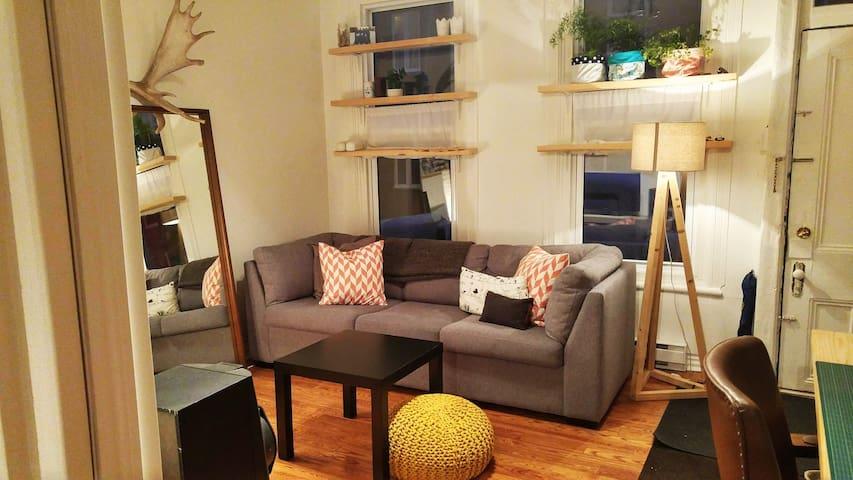 Chaleureux petit appartement au coeur de Québec - Ville de Québec - Wohnung