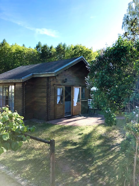 Holiday home TinyHouse Bungalow paradises in front of Usedom