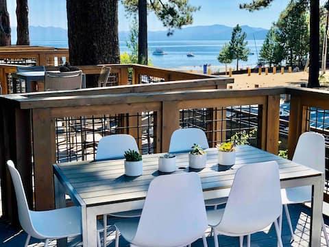 The King's Beach Retreat: Luxury Waterfront Condo