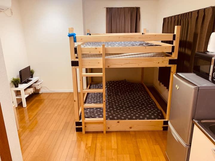 人気の中野エリア マンションタイプで三密回避 家具家電付きのお部屋で自炊も可能 消毒殺菌清掃