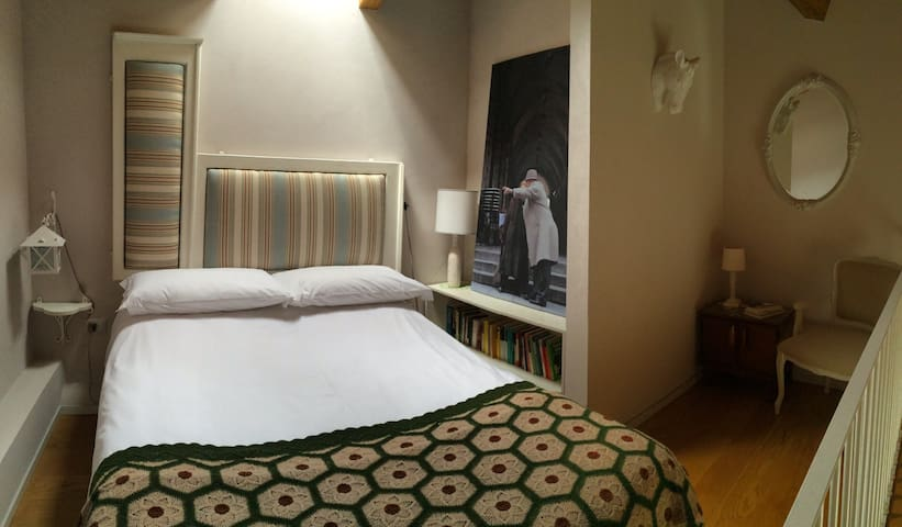 Charming B&B at the Gran Sasso Mountain - Room 1 - Farindola - B&B