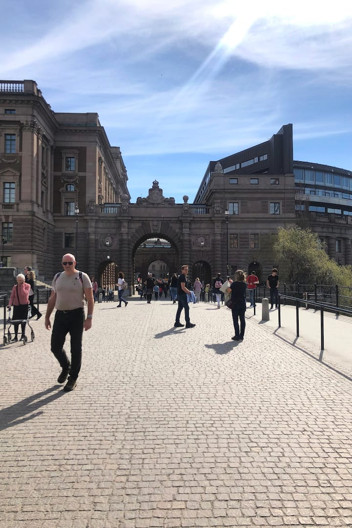 Riksbron - the Swedish parliament