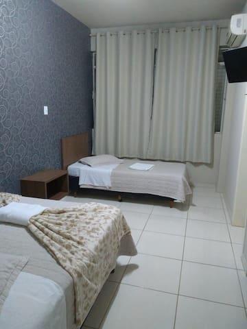 Hotel ideal, localizado no centro de Chapecó