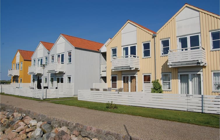 Holiday apartment with 2 bedrooms on 67m² in Rudkøbing