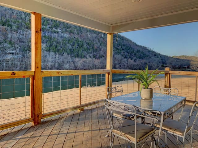 The Upper Deck ~ On RiverView Drive