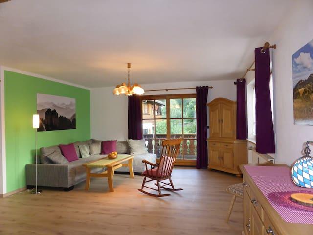Ferienwohnung Scheibel - Ohlstadt - Apartmen