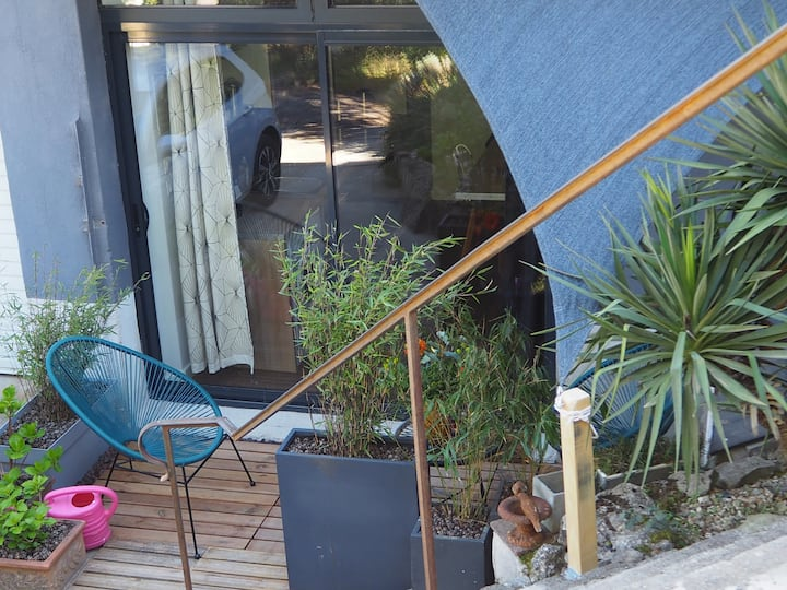 Appartement t1 charme/campagne proche Carcassonne
