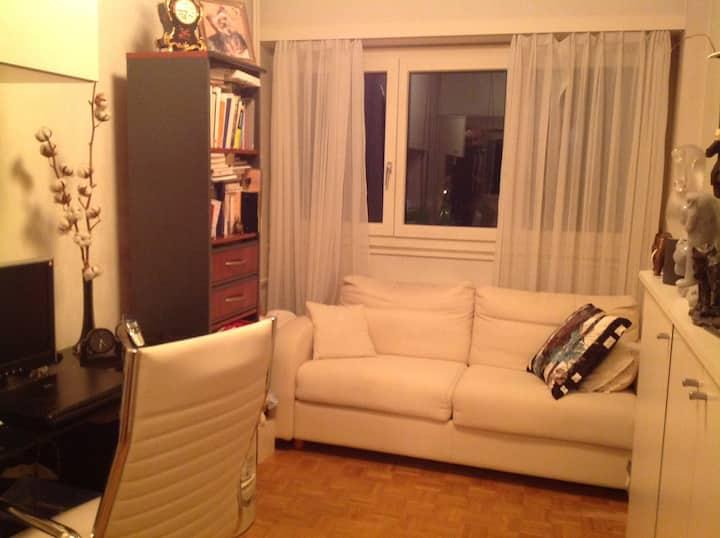 Room wifi/TV/near RICHEMONT,UN,WIPO, ILO,PALEXPO