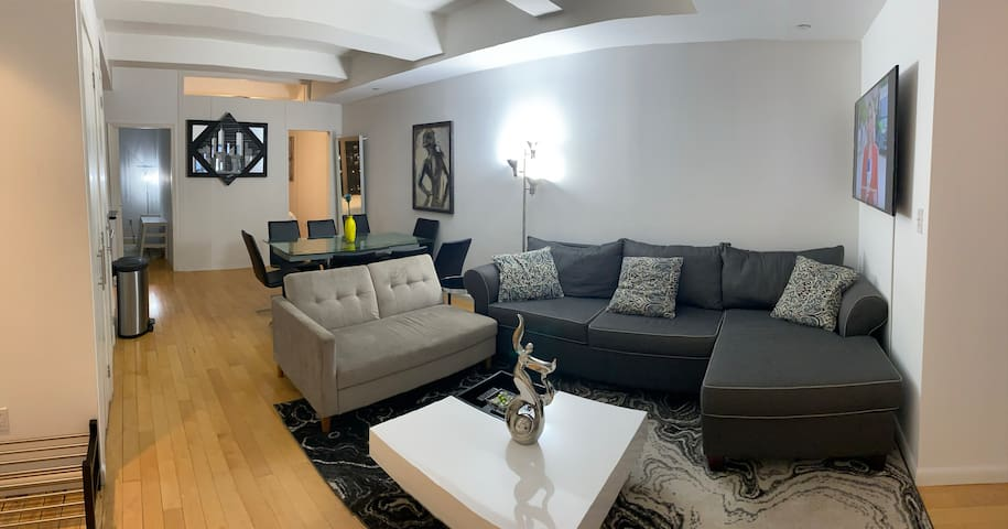 SAFE COVID FREE 4 bed 2 bath Pent House Times Sq
